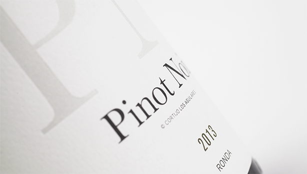 Image of Pinot Noir wine label