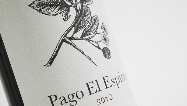 Image of Pago El Espino wine label
